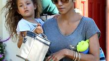 Halle Berry and daughter Nahla (AP/AP)