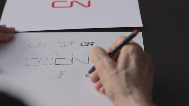 The CN logo marks the first instance of a major national corporation designing an identity program.