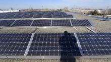 "On Tuesday, the Canadian Solar Industries Association (CanSIA) released a poll purporting to show that three-quarters of Ontarians ""would like to see the government invest more in solar powered electricity and in technologies that enable solar power."" (Fred Lum/The Globe and Mail)"