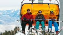 Stay warm on your way up the hill in the new heated chairlift at Canyons Resort in Utah. (Canyons Resort/Canyons Resort)