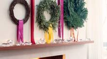 This time of year, decorating advice almost always boils down to three words: Don't overdo it. Or these three words: Keep it classy. (Stacey Brandford)