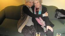 Alice Munro and Margaret Atwood in a Twitter photo posted by Atwood on Oct. 27. (Twitter)