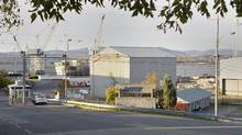 The Davie shipyard, shown on Oct. 19, 2011 in Levis, Que., was shut out of $33-billion in federal contracts. (CLEMENT ALLARD/THE CANADIAN PRESS)