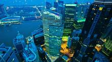 Glamourous cities of the Global North such as Singapore distract our gaze from their counterparts in the Global South, where 90 per cent of future urban growth will take place. (Sam Kang Li/Bloomberg)