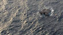 Objects large and small were swept into the Pacific Ocean by the tsunami that struck Japan in March, 2011.