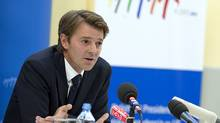 French Minister for Economy, Finance and Industry Francois Baroin. (ADAM NURKIEWICZ/AFP/Getty Images)