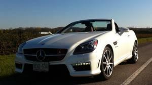 <p>2013 Mercedes-Benz SLK 55</p>