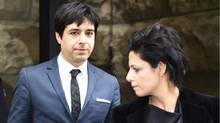 Jian Ghomeshi leaves court in Toronto on Thursday, March 24, 2016 with his lawyer Marie Henein. Ghomeshi was acquitted on all charges of sexual assault and choking following a trial that sparked a nationwide debate on how the justice system treats victims. Ontario court Judge William Horkins said he simply could not rely on the three complainants given their changing and shifting memories and evidence that at times strayed into outright lies. (Frank Gunn/The Canadian Press)