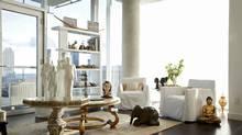 Robin Kay's living room (Moe Doiron / The Globe and Mail/Moe Doiron / The Globe and Mail)