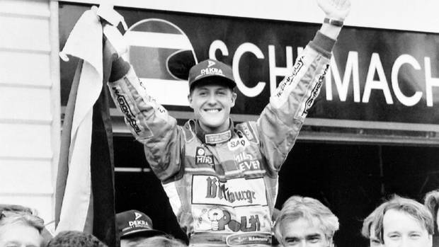 Following a one race debut with Jordan in 1991, Michael Schumacher moves to Benetton where he claimed the first of his record seven Formula One championships in 1994. (Neil Hewitt/Associated Press)