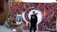 Even as Tunisians celebrate the second anniversary of the revolution, many young people have become disillusioned by the country's faltering economy, high unemployment and Islamist crackdowns on civil liberties. (ANIS MILI/REUTERS)