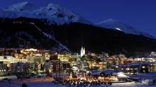 The Swiss mountain resort of Davos, site of the annual World Economic Forum (ARND WIEGMANN/REUTERS)