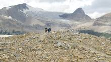 hikers in Yoho National Park, BC, Canada (Douglas Williams/The Canadian Press)