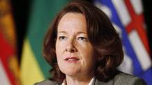 Alison Redford: Recent polls show Wildrose, led by Official Opposition Leader Danielle Smith, with a substantial lead in voter support. (Mark Blinch/THE CANADIAN PRESS)