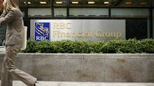 File an RBC branch in the financial district of Toronto. (Ryan Carter/The Globe and Mail)