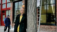 Architect Joe Wai, standing outside the newly renovated Wing Sang building, believes density is the key to reviving a downtown area where only about 1,000 people actually live, though he is against high-rise towers as a solution. (LAURA LEYSHON/LAURA LEYSHON for the Globe and)