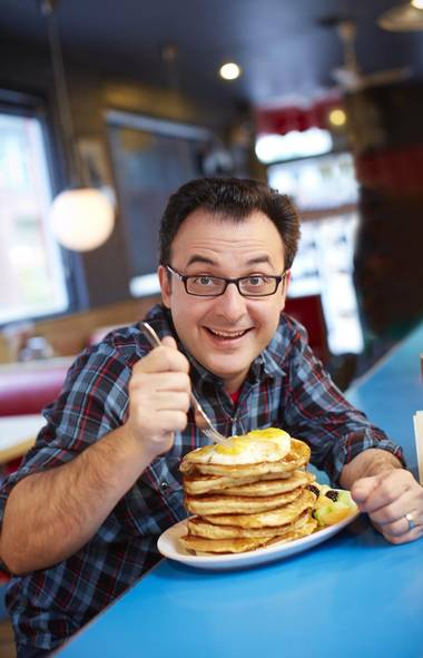 FOOD You Gotta Eat Here! (Food Network, 7 p.m.) Is it a comedy show or cooking series? Recently returned for a second campaign, this show's no-frills format follows the very amusing John Catucci all over Canada in his search for unique comfort-food experiences. Naturally, each restaurant visited takes immense pride in serving one damn-the-torpedoes high-calorie dish, which the host is more than happy to scarf down at a moment's notice. In tonight's first show, he's in Vancouver to visit a popular eatery called The Reef, where customers can't get enough of a unique Canadian-Caribbean hybrid: Jerk Chicken Poutine. Say irie, Big John.