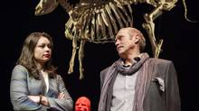 Daniela Vlaskalic and Allan Morgan in Karen Hines's play DRAMA, at the 2012 edition of the Enbridge playRites Festival of New Canadian Plays in Calgary. (Chris Bolin for The Globe and Mail)