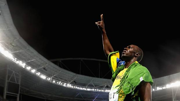 """I tell every youngster – you're not going to beat me,"" Bolt says."