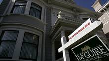 A home in San Francisco, where a short supply of housing has contributed to a rise in prices. (ROBERT GALBRAITH/REUTERS)