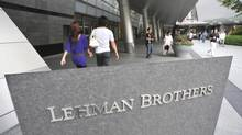During the financial crisis, heavy exposure to collapsed investment bank Lehman Brothers caused the net asset value of one fund – the Reserve Primary Fund – to drop below $1 per share, breaking an implicit promise of a guaranteed minimum value. Unlike banks, such funds are not backed up in the U.S. by the Federal Deposit Insurance Corp., and critics say a sudden depositor flight from the sector could have equally devastating consequences as a traditional run on a bank. (Katsumi Kasahara/The Associated Press)