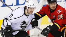Flames' captain Jarome Iginla has just one goal in 15 games this season. Calgary faces Minnesota on Saturday night. (TODD KOROL/REUTERS)