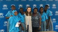 Clare Morneau's new book Kakuma Girls tells the stories of girls at Morneau Shepell Secondary School for Girls in the Kakuma refugee camp.