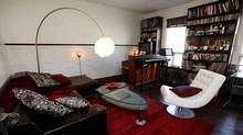 Micah Barnes's living room (Deborah Baic / The Globe and Mail/Deborah Baic / The Globe and Mail)