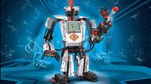 At $399, the Lego Mindstorms EV3 is probably the cheapest and easiest customizable robot available (Lego.com)