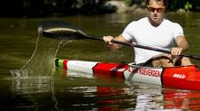 Adam van Koeverden trains at the Burloak Canoe Club in Oakville, Ont. Wednesday, June 13/2012. van Koeverden will be competing at the Olympic Games in London this summer. (Photo by The Globe and Mail) (Kevin Van Paassen/The Globe and Mail)
