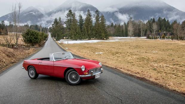 The 1967 MGB is from an era when the English roadster ruled both the racetrack and the roads.