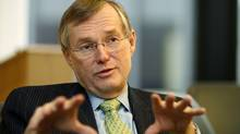 Citing 'the current economic outlook,' Toronto-Dominion Bank decided to hold CEO Ed Clark's total direct compensation at $11.28-million in 2011, roughly the same as in 2010, according to regulatory filings. (Fernando Morales/The Globe and Mail/Fernando Morales/The Globe and Mail)