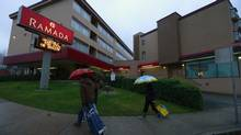 A Vancouver realtor confirmed the Ramada Inn was sold for $15.5-million. (Jeff Vinnick/Jeff Vinnick/The Globe and Mail)