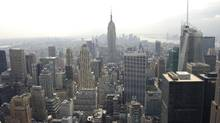 The New York City skyline. (THE CANADIAN PRESS/THE CANADIAN PRESS)