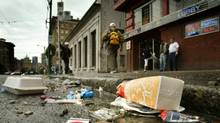 One measure the city is planning to combat the garbage tide is issuing municipal tickets for bad recycling practices, leaking loads and other garbage-related violations. (JOHN LEHMANN/The Globe and Mail)