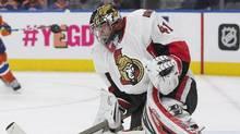 Ottawa Senators goalie Craig Anderson's wife, Nicholle, is battling cancer. (JASON FRANSON/AP)