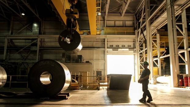 Russel Metals operates an expansive network of metals service centres for the North American oilpatch, construction and manufacturing sectors. Russel Metals has grown globally through careful, targeted foreign acquisitions. (Glenn Lowson for The Globe and Mail)