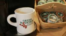 Green Mountain coffee stocks took a nose dive after the coffee maker badly missed sales projections. (TOBY TALBOT)