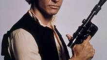 Harrison Ford was a mainstay in the original Star Wars trilogy as the dour space smuggler Han Solo.