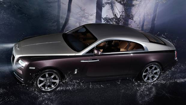 The new Rolls-Royce Wraith is the fastest car the auto maker has ever built, with a 0-100 km/h speed of 4.6 seconds. (Rolls-Royce)