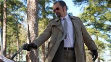 In The Iceman, the dichotomy between New Jersey-based contract killer Richard Kuklinski's (Michael Shannon) home life and his grotesque job is milked for irony.