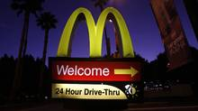 McDonald's currently owns about 45 per cent of the land and 70 per cent of the buildings for its more than 30,000 restaurants around the world. (MARIO ANZUONI/MARIO ANZUONI/REUTERS)