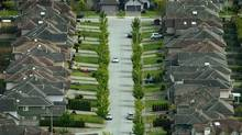 Homes on a suburban street in Richmond, B.C. May 10, 2006. (John Lehmann/Globe and Mail)