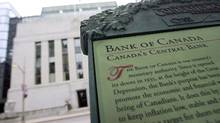 A sign is pictured outside the Bank of Canada building in Ottawa in this file photo. (Chris Wattie/Reuters)