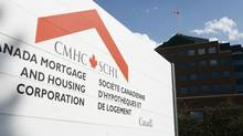 The Canada Mortgage and Housing Corporation complex in Ottawa on Thursday Oct. 9, 2008. (Sean Kilpatrick/Sean Kilpatrick for the Globe and Mail)