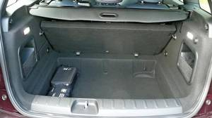 Removeable trunk floor on the 2016 Mini Clubman