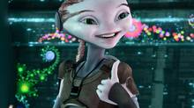 """A (perhaps overly optimistic) scene from """"Mars Needs Moms"""""""