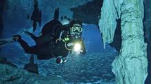 Some of the world's largest underwater caves are near Cancun. (Darryl Leniuk/Darryl Leniuk)