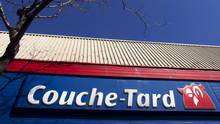 A Couche-Tard convenience store is pictured in Montreal, April 18, 2012. (© Christinne Muschi / Reuters/REUTERS)