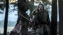 Leonardo DiCaprio stars as legendary explorer Hugh Glass in The Revenant, which has been nominated for Best Picture at the Oscars. (Kimberley French)